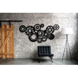 Nowoczesna dekoracja z metalu do wnętrz industrialnych