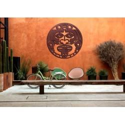 Maska aztecka dekoracja z...
